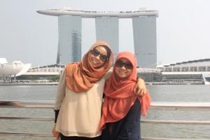 Marina Bay Sands, pengen deh honeymoon di sini :D