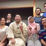Rakugoka and classmates