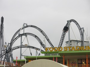 "Fujiyama, the ""KING OF COASTERS"""