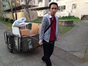 Sewaktu mengangkut barang pemberian orang lain maupun barang nemu di gomi :P