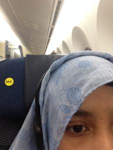 Stiker penanda bagi penumpang yang memsan special meals